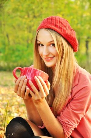 Autumn girl portrait Stock Photo - 11236864