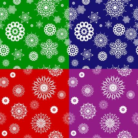 holiday celebrations: Snowflake seamless