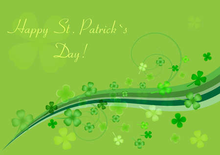 Abstract background to st. patrick`s day Vector