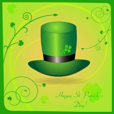 patric day: Greeting St  Patrick card