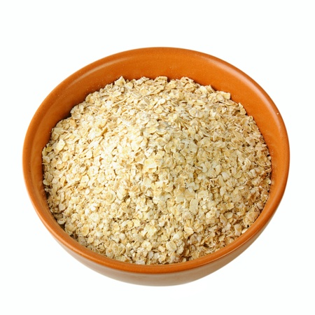 dry oat grains photo