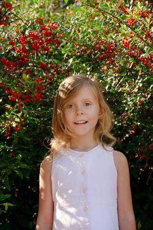 five years old: Bambina di cinque anni