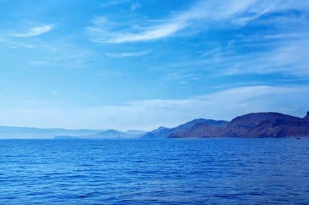 on the black sea: Sea landscape