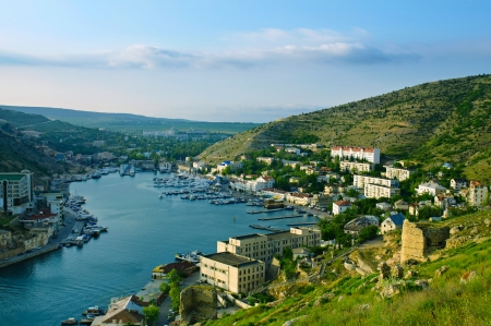 Balaklava city Stock Photo - 16908739