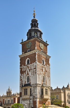 polska monument: Town Hall in Cracow