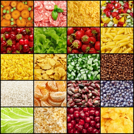 Food backgrounds Stock Photo - 17156029