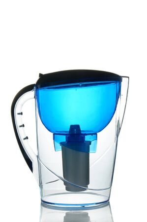 distilled water: Water filter