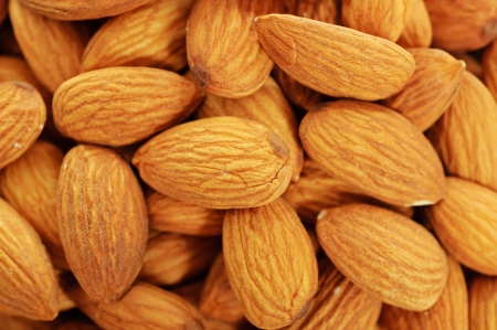 Almond background photo
