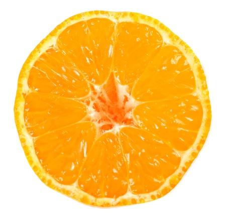 naranjas: Mandarina aislado