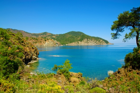 Turkey sea landscape photo