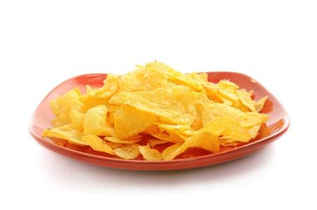 Golden fresh chips