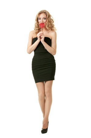 Sexy valentine girl photo