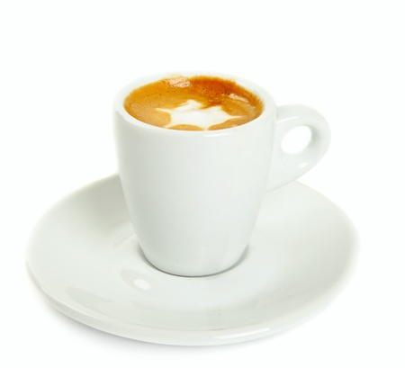 macchiato isolated photo