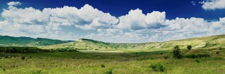 Mountain summer landscape pfnorama photo