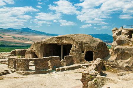 pohanský: Cave antient pagan city Uplistsihe (uplistsikhe, upliscikhe) in Georgia