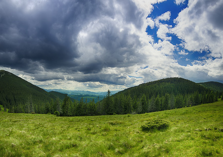 carpathian: Carpathian mountain landscape