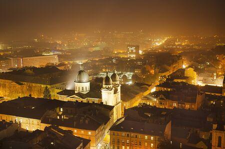 lviv: Night Lviv
