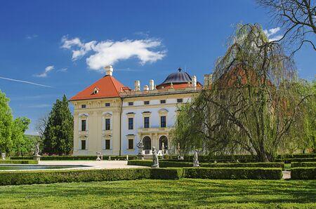 austerlitz: Castle in Slavkov - Austerlitz Stock Photo