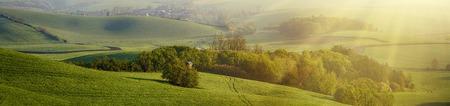 panoramic: Rural landscape