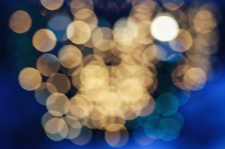 abstrakte muster: Christmas shiny glitter Licht abstrakte Bokeh in goldenen Farben, saisonale Ferien unscharfen Hintergrund