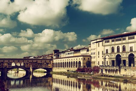 vechio: Ponte Vecchio in Florence Stock Photo