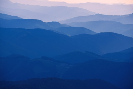 Abstract mountain background
