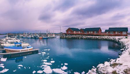 Winter Norway landscape