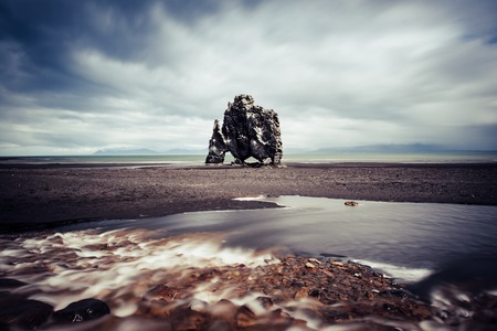 Hvitserkur rock in Iceland Stock fotó