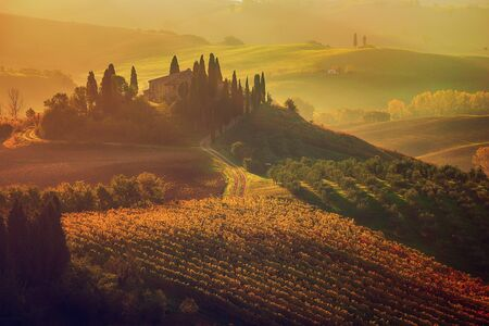 이탈리아의 일출 스톡 콘텐츠