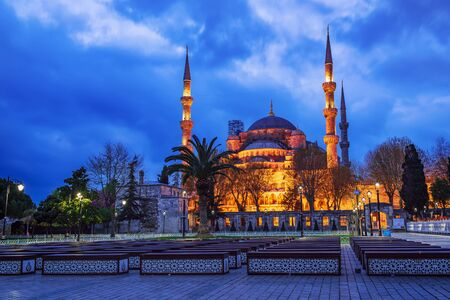 Blue Mosque in Istanbul Stockfoto