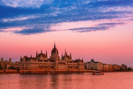 Budapest Parliament and river