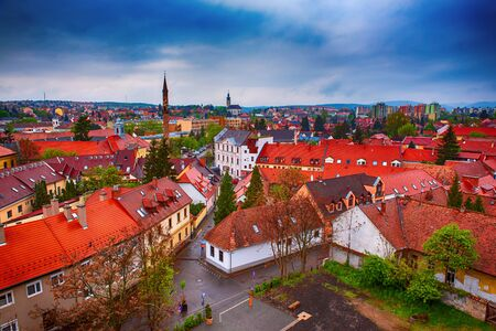 Eger city view