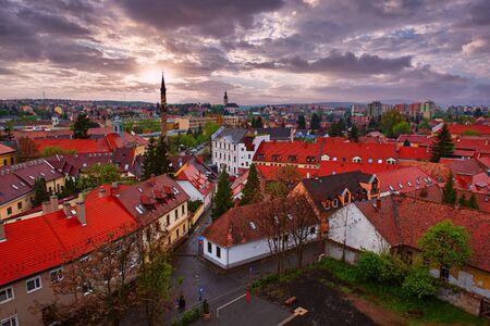 Eger city view