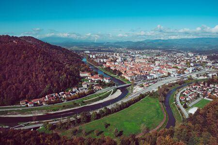 Celje city, Slovenia