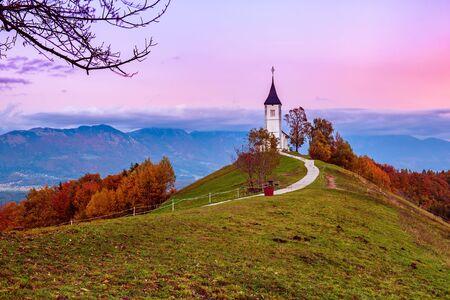 Church Jamnik, Slovenia Banque d'images