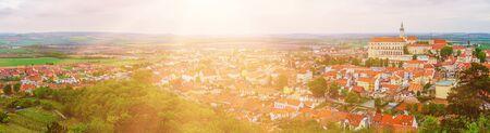 Mikulov city view Banque d'images