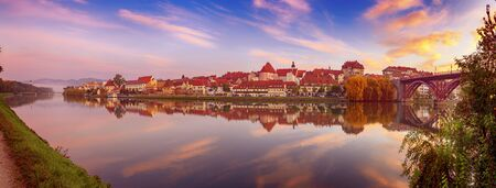 Sunrise at Maribor