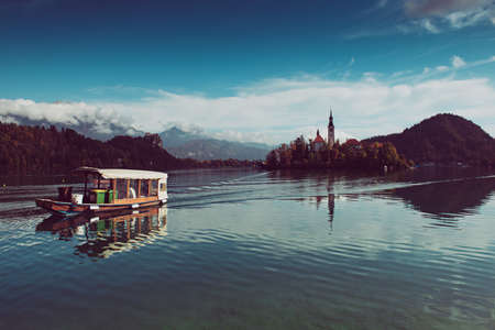 Lake Bled, Slovenia Stok Fotoğraf