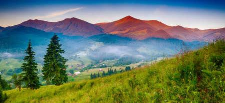 Mountain amazing landscape Standard-Bild