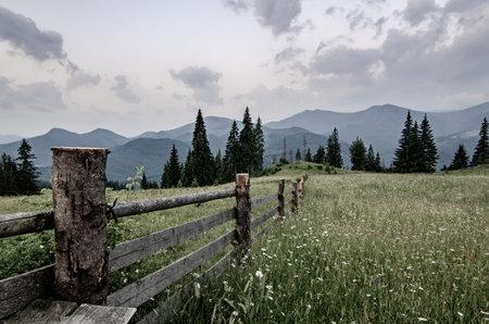 Mountain summer landscape Stok Fotoğraf - 160919519