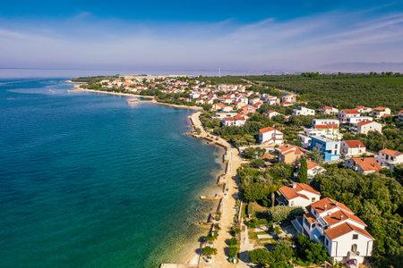 Petrcane village, Croatia Stok Fotoğraf