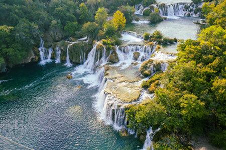 Waterfalls at Krka