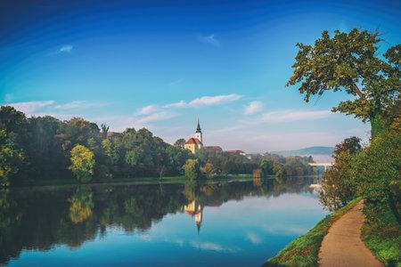 Morning at Maribor Stok Fotoğraf