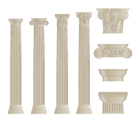 Set di colonne Archivio Fotografico - 21260700