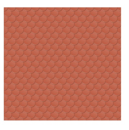 slate roof: vector seamless texture of the clay tile Illustration