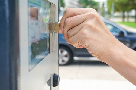 paying for parking