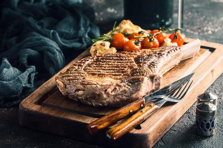 grilled tomahawk beef steak Reklamní fotografie