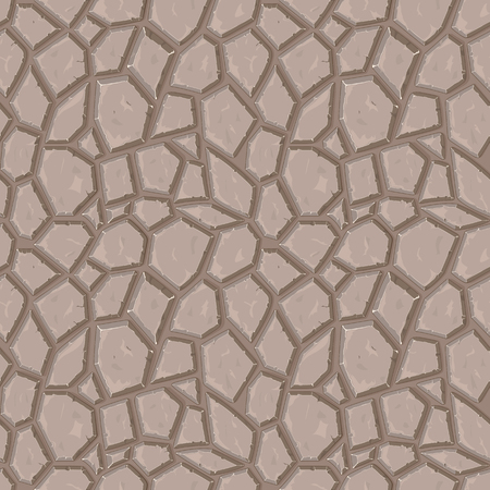 Dry cracked ground texture, vector background, seamless pattern, seamless texture, seamless vector 向量圖像