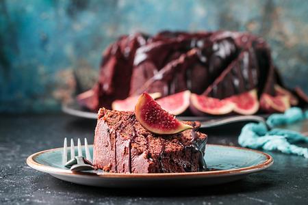 Gingerbread Bundt Cake Standard-Bild