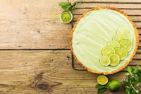 Key Lime Pie Reklamní fotografie